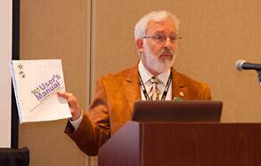 Jim Newman Shares the ASHRAE Standard 90.1 User Manual at NOMA Detroit.