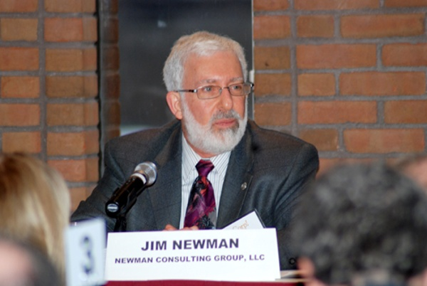 Jim Newman was a featured speaker and Champion Award recipient at this event.