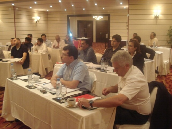Dec., 2008 - LEED Training, Doha, Qatar