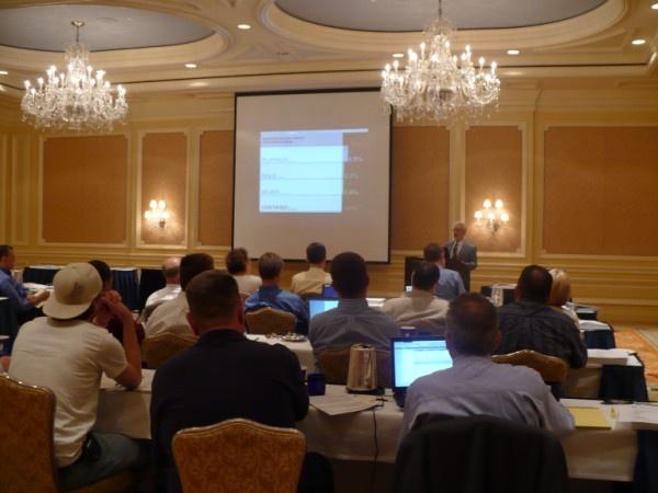 LEED-EB/ASHRAE Training Class, Ritz-Carlton Hotel, Dearborn, MI