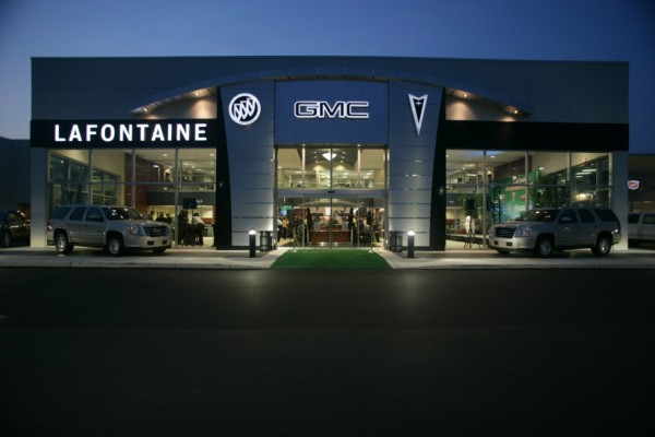 LaFontaine GM Dealership, Highland, MI - LEED-NC Gold
