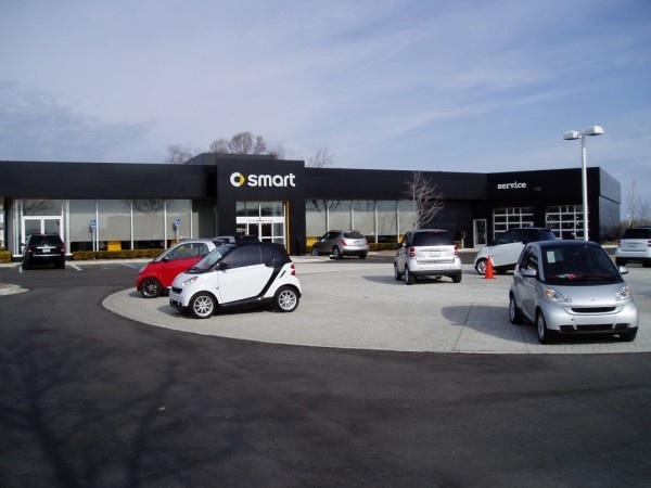 smart car for two North American Headquarters and Dealership, Bloomfield Hills, MI - LEED-CI Silver