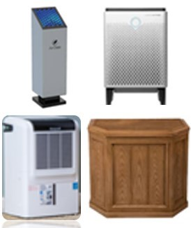 4 types of portable air quality units
