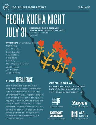 Detroit Pecha Kucha Night