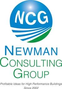 NCG Logo - profitable ideas for high performance buildings since 2002.
