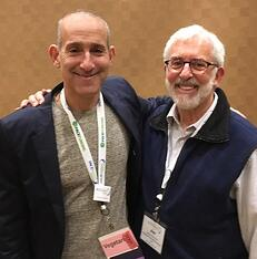 PACENation Founder Jeff Tannenbaum (l) with Jim Newman.